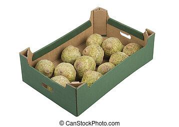 caja, celeries