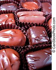 caja, chocolates, 4