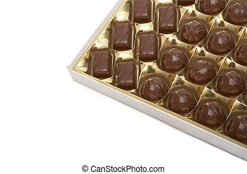 caja, chocolates