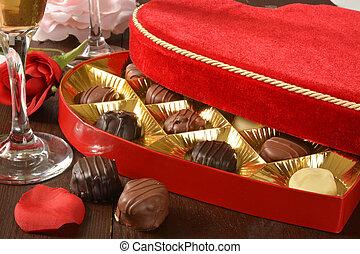 caja chocolates