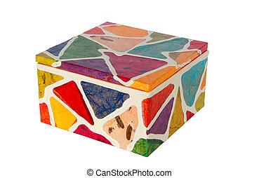 caja, colorido