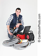 caja de herramientas, electricista