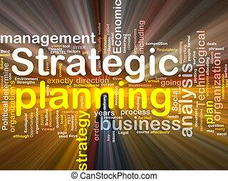 caja, palabra, paquete, planificación estratégica, nube