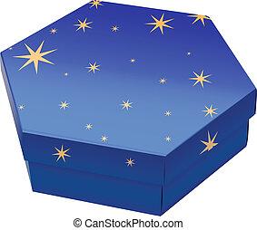 caja, presente