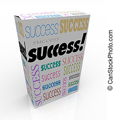 caja, producto, instante, éxito, sí mismo, -, mejora,...