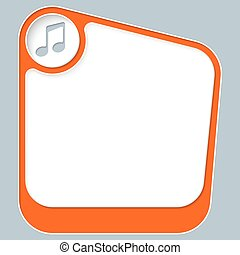 caja, texto, marco, su, música, blanco, símbolo, rojo