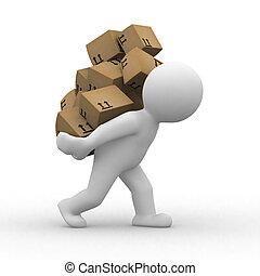 cajas, 3d
