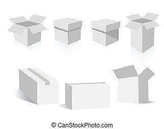 cajas, vector