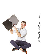 Cajon in the hands of