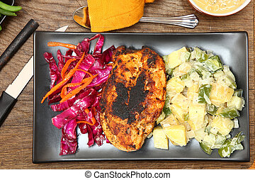 Cajun Spiced Chicken