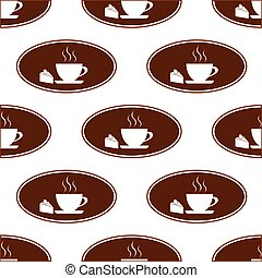Cake and cup pattern