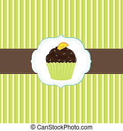 Cake Card Template