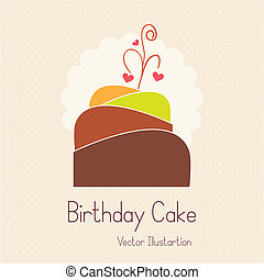 Cake  & Cupcakes icons ( concepts, labels, & cards)
