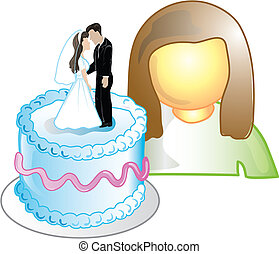 Cake designer Icon