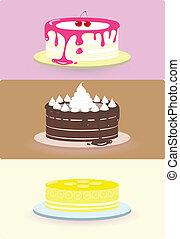 cake illustration/vector