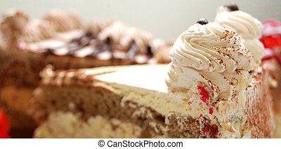 cake, macro