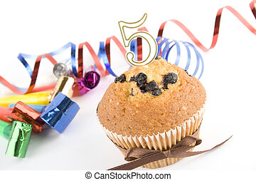 Cake on the fifth anniversary
