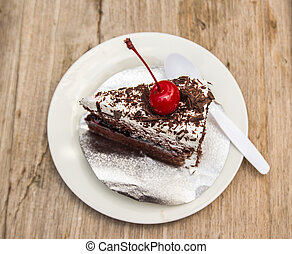 Cake on the plate - Sweet Food