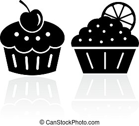 Cake vector icons