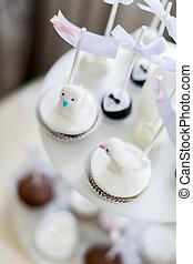 Cakes on the wedding