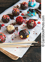 Cakes Pops and sticks