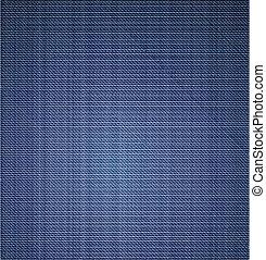 calças brim azuis, textura, fim, cima., vetorial