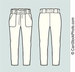 calças