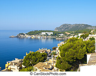 Cala Fornells, Mallorca - Cala Fornells is a small bay in ...