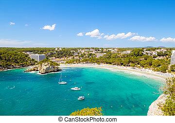 Cala Galdana - one of the most popular beaches at Menorca ...