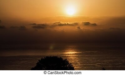 Cala Gonone Sunrise Timelapse Close - Shot in the early...