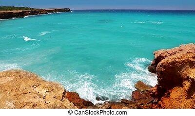 Cala Saona in Formentera beach - Cala Saona in Formentera...