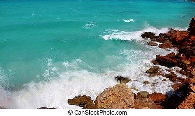 Cala Saona in Formentera island - Cala Saona in Formentera...