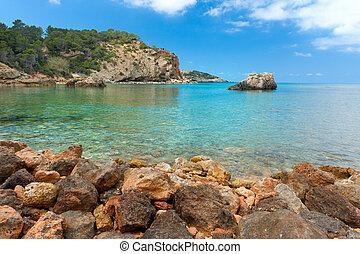Cala Xarraca, Ibiza Spain - Cala Xarraca, a beautiful small ...