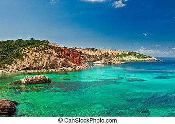 Cala Xarraca, Ibiza Spain - Cala Xarraca, a beautiful small...