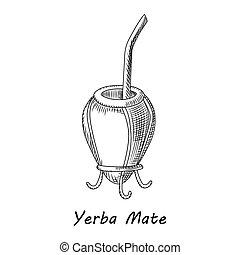 Yerba Mate Illustrations And Clipart 247 Yerba Mate Royalty