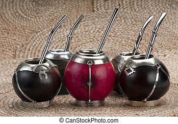 Calabash Mate Cups