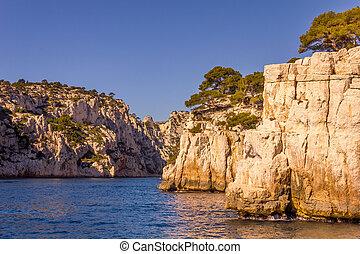 Calanques, Cassis, France