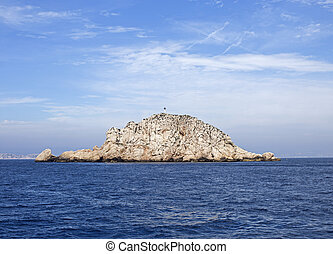 calanques island in marseille, france