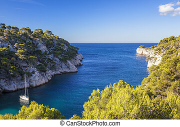 Calanques of Port Pin, Cassis, France