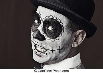 calaveras, 構造, メキシコ人, 人