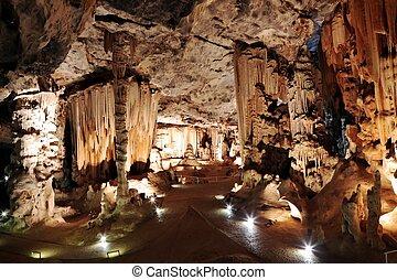 calcare, caverna, formazioni