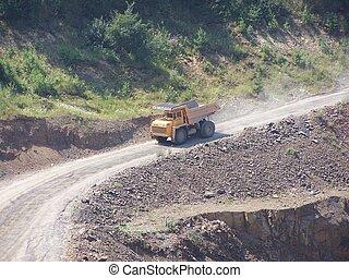 calcare, miniera