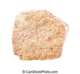 calcareous, amarillo, sin pulir, arenisca, roca