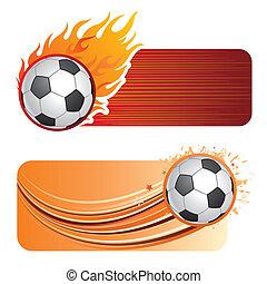 calcio, fiamme