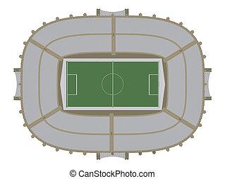 calcio, stadio, football