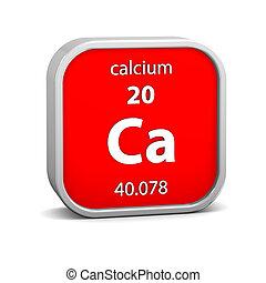 Calcium material sign - Calcium material on the periodic...