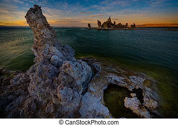 Calcium Spires at Mono Lake