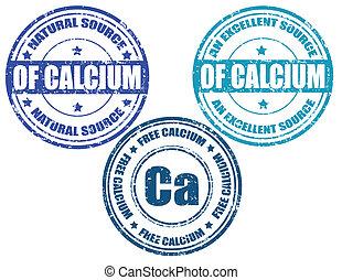 Calcium-stamps