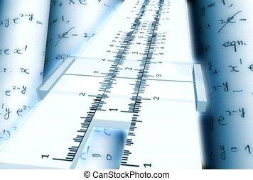 calcolare, misura, matematico