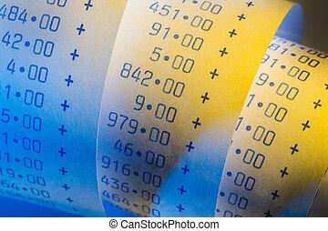 calcolatore, aritmetica, striscia